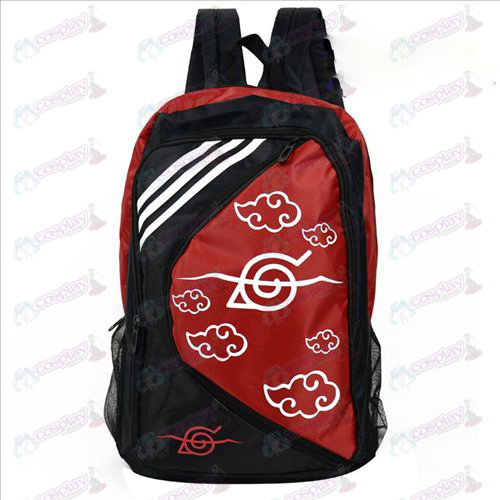 1225 Naruto Red Backpack Nuvem