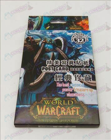 32 World of Warcraft Acessórios Stickers