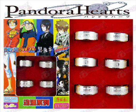 Pandora fosco Ring (6 / set)