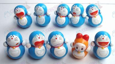 10 Doraemon copo (10 / set)