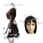 Brown Gothic Lolita Cosplay
