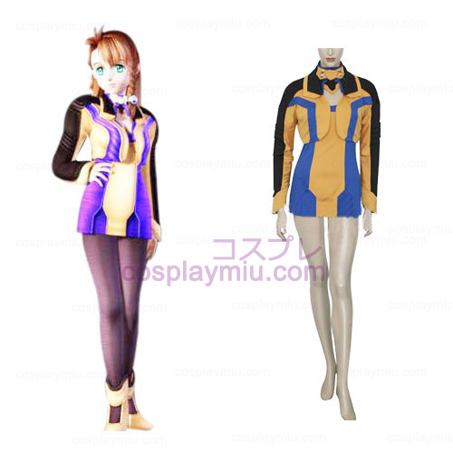 Xenosaga I Shion Uzuki Vector Cosplay Uniforme