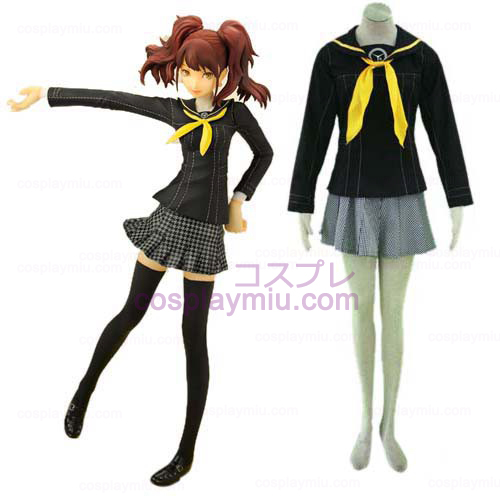 Persona 4 Escola Cosplay Uniforme