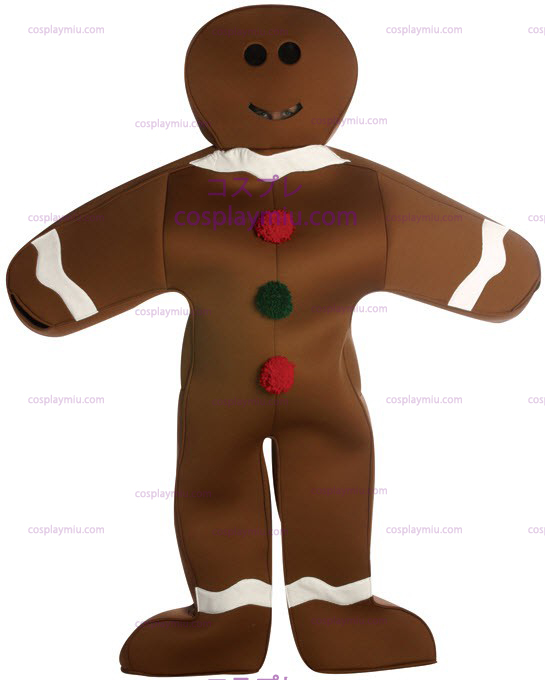 Traje Gingerbread Man