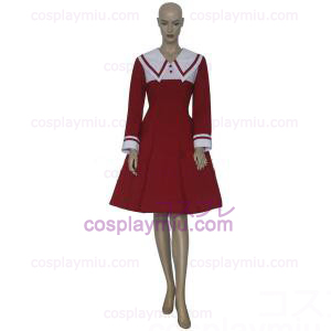 Chobits Chii Red Cosplay Vestido