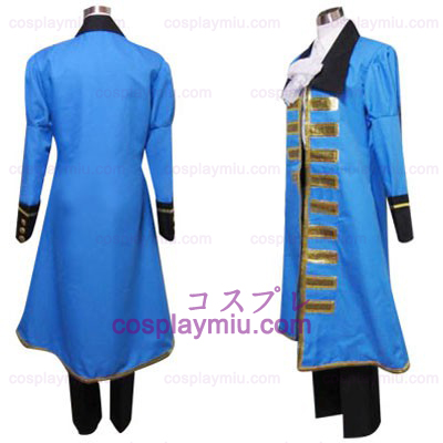 Hetalia Axis Powers Azul Cosplay França
