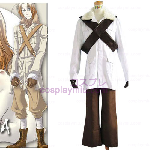 Hetalia Axis Powers Canadá Mateus Cosplay Halloween