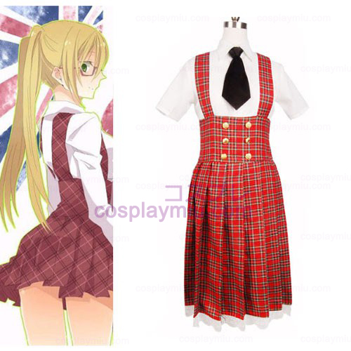 Axis Powers Gakuen Escola Cosplay Uniforme