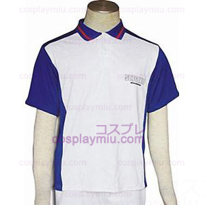 The Prince of Tennis Academy Traje de Verão Cosplay Seishun T-shirt