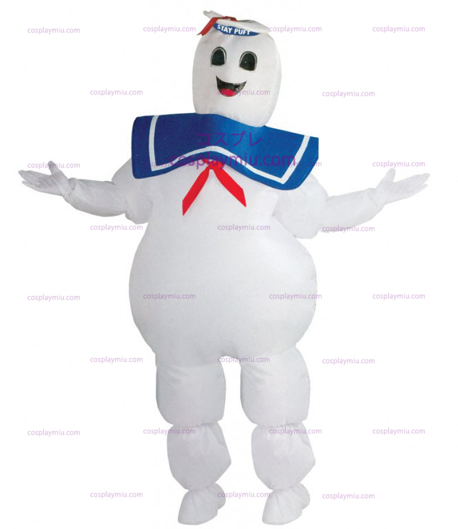 Ghostbuster Man Costume Marshmallow