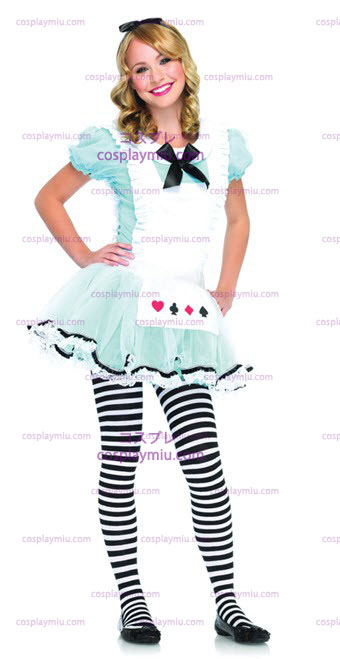 Adorável Alice adolescente Costume