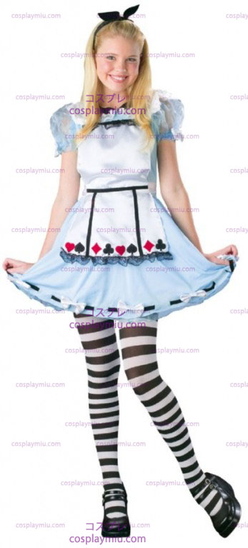 Alice Wonderland adolescente Costume