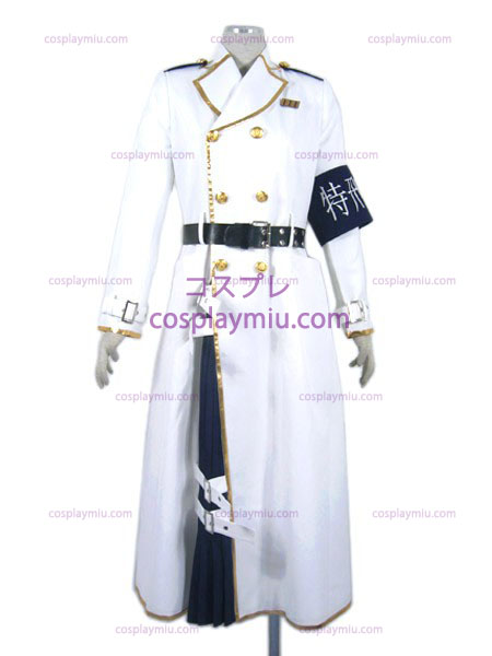 Dolls Uniforme Troops First (white)