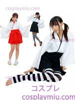 Manga comprida Kimono Witch Costume Priest Gir
