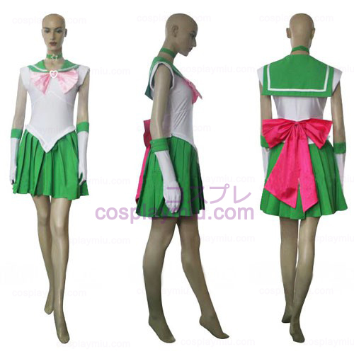Sailor Moon Sailor Jupiter Makoto Kino Cosplay Halloween