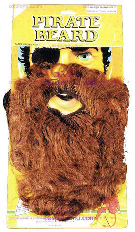 Beard pirata, Brown