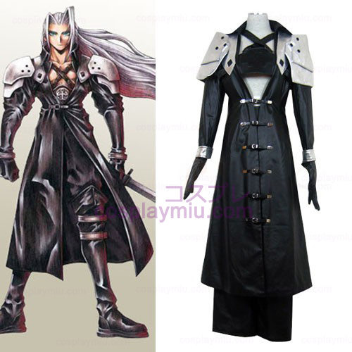 Final Fantasy VII Sephiroth luxo Cosplay Halloween