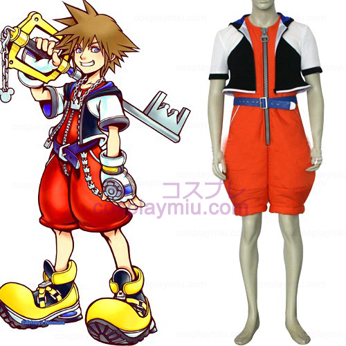 Kingdom Hearts traje 1 Homens de Sora Cosplay