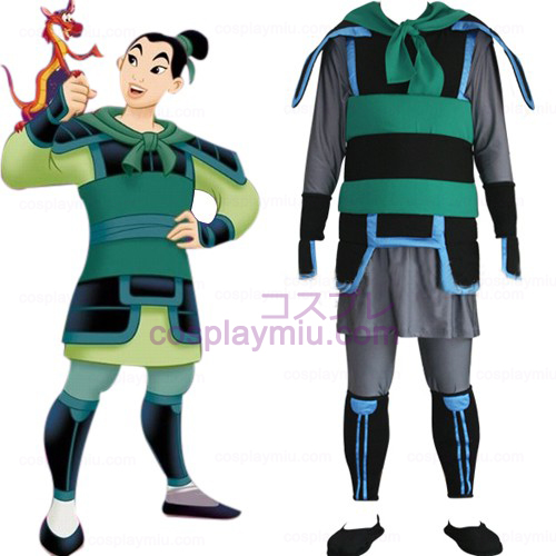 Kingdom Hearts 2 Mulan Cosplay Homens