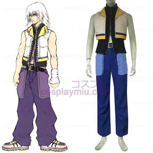 Kingdom Hearts traje 2 Homens de Riku Cosplay