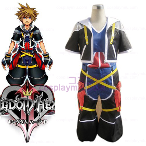 Kingdom Hearts traje 2 Homens de Sora Cosplay